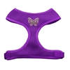 Mirage Pet Products Purple Butterflies Chipper Purple Harness Small