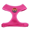 Mirage Pet Products Rainbow Peace Sign Chipper Pink Harness Small