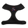 Mirage Pet Products Patriotic Anchors Chipper Black Harness Small