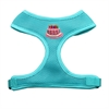 Mirage Pet Products Pink Birthday Cake Chipper Aqua Harness Medium