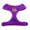 Mirage Pet Products Pink Birthday Cake Chipper Purple Harness Large