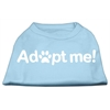 Mirage Pet Products Adopt Me Screen Print Shirt Baby Blue Lg (14)