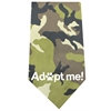 Mirage Pet Products Adopt Me Screen Print Bandana Green Camo
