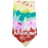 Mirage Pet Products Adopt Me Screen Print Bandana Tie Dye
