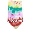 Mirage Pet Products Adopt Me Screen Print Bandana Tie Dye