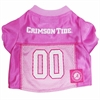 Mirage Pet Products Alabama Crimson Tide Pink Jersey XS