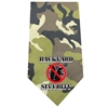 Mirage Pet Products Back Yard Security Screen Print Bandana Green Camo