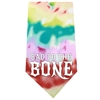 Mirage Pet Products Bad to the Bone Screen Print Bandana Tie Dye