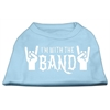Mirage Pet Products With the Band Screen Print Shirt Baby Blue Med (12)