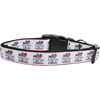 Mirage Pet Products My Heart Belongs to Daddy Nylon Collar Medium