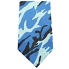 Mirage Pet Products Plain Patterned Bandana Blue Camo