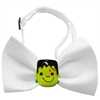 Mirage Pet Products Frankenstein Chipper White Bow Tie