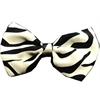 Mirage Pet Products Dog Bow Tie Zebra
