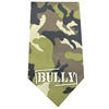 Mirage Pet Products Bully Screen Print Bandana Green Camo