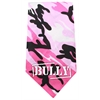 Mirage Pet Products Bully Screen Print Bandana Pink Camo