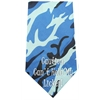 Mirage Pet Products Cant Hold Licker Screen Print Bandana Blue Camo