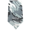 Mirage Pet Products Cant Hold Licker Screen Print Bandana Grey Camo