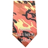 Mirage Pet Products Cant Hold Licker Screen Print Bandana Orange Camo