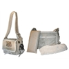 Mirage Pet Products Natural Sherpa Pony Express Airline Pet Carrier