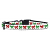 Mirage Pet Products Christmas Bows Nylon Ribbon Collar Small