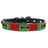 Mirage Pet Products Christmas Ice Cream Collar Enamel Bone Large