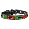 Mirage Pet Products Christmas Ice Cream Collar Enamel Bone Small