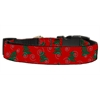 Mirage Pet Products Christmas Trees Nylon and Ribbon Collars . Large
