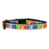 Mirage Pet Products Classic Christmas Nylon and Ribbon Collars . Cat Safety
