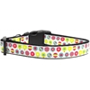 Mirage Pet Products Christmas Ornament Nylon Ribbon Collars Large