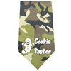 Mirage Pet Products Cookie Taster Screen Print Bandana Green Camo