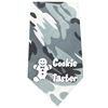 Mirage Pet Products Cookie Taster Screen Print Bandana Grey Camo