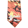 Mirage Pet Products Cookie Taster Screen Print Bandana Orange Camo