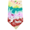 Mirage Pet Products Cookie Taster Screen Print Bandana Tie Dye