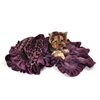Mirage Pet Products Purple Cheetah 1/2 Size  Pet Blanket