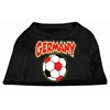 Mirage Pet Products Germany Soccer Screen Print Shirt Black XXL (18)
