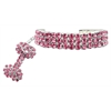 Mirage Pet Products Glamour Bits Pet Jewelry Pink S (6-8)