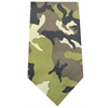 Mirage Pet Products Plain Patterned Bandana Green Camo