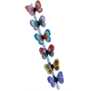 "Mirage Pet Products Hair Clip Set of 6- 1"" Butterflies"