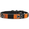 Mirage Pet Products Halloween Ice Cream Bone Collar Medium