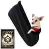 Mirage Pet Products Punky Skull Rhinestone Puppy Holdem Sling / Black trim Size Lg/XL