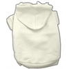 Mirage Pet Products Blank Hoodies Cream XXXL(20)