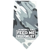 Mirage Pet Products Hungry I Am Screen Print Bandana Grey Camo