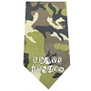 Mirage Pet Products I Have issues Screen Print Bandana Green Camo