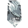 Mirage Pet Products I Have issues Screen Print Bandana Grey Camo