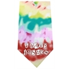Mirage Pet Products I Have issues Screen Print Bandana Tie Dye