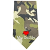 Mirage Pet Products I Love Daddy Screen Print Bandana Green Camo