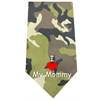 Mirage Pet Products I Love Mommy Screen Print Bandana Green Camo