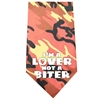 Mirage Pet Products Love not a Biter Screen Print Bandana Orange Camo
