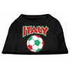Mirage Pet Products Italy Soccer Screen Print Shirt Black XXL (18)
