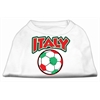 Mirage Pet Products Italy Soccer Screen Print Shirt White XL (16)